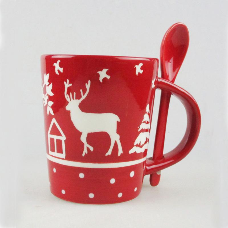 Plate Bowl Ceramic christmas christmas Mug christmas Xmas vwm8OPn0yN